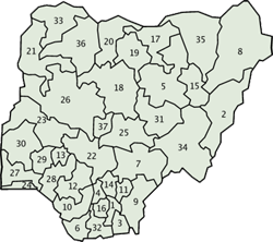 Kingdoms Of Nigeria Nigerian States Capital Cities And Towns
